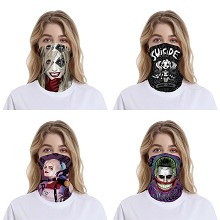 Suicide Squad headgear stocking mask magic scarf neck face mask