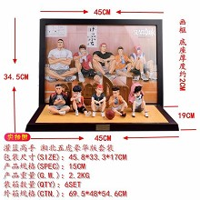 Slam Dund frame and figures a set