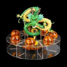 Dragon Ball Shenron+balls+holder figures a set
