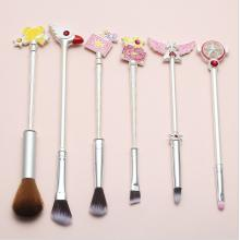Card Captor Sakura anime makeup Brush(6pcs a set)