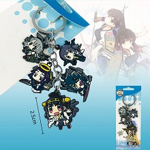 Collection anime key chain
