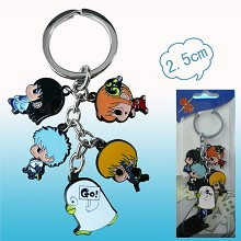 Gintama anime key chain