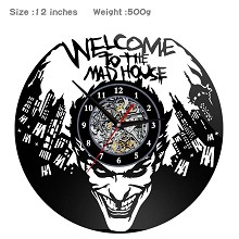 Suicide Squad wall clock