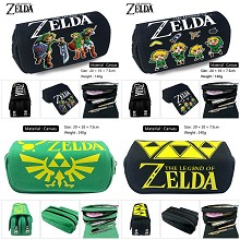 The Legend of Zelda game canvas pen bag pencil bag