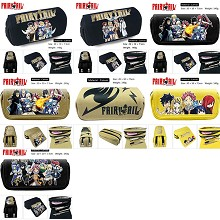 Fairy Tail anime canvas pen bag pencil bag