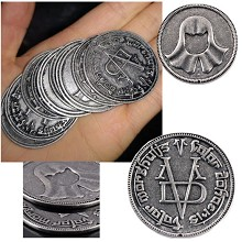 Game of Thrones Commemorative Coin Collect Badge L...