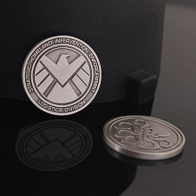 S.H.I.E.L.D. Commemorative Coin Collect Badge Luck...