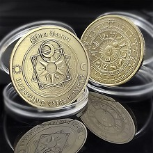 The divination Commemorative Coin Collect Badge Lu...