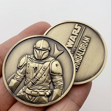 Star Wars Commemorative Coin Collect Badge Lucky C...