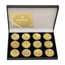 Twelve constellations the Zodiac Commemorative Coi...