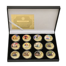 Dragon Ball anime Commemorative Coin Collect Badge...