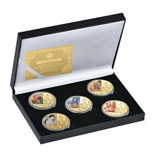 Slam Dunk anime Commemorative Coin Collect Badge L...