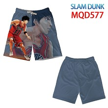 Slam Dunk anime beach pants shorts middle pants