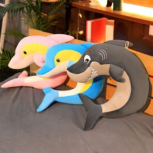 Dolphins anime U pillow