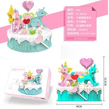 Cake anime building block 1894pcs a set