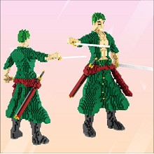 One Piece Zoro anime building block