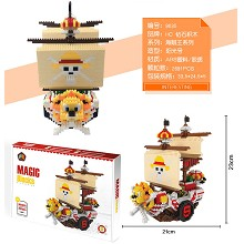 One Piece anime building block 2691pcs a set