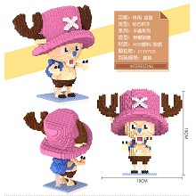 One Piece chopper anime building block 2131pcs a s...