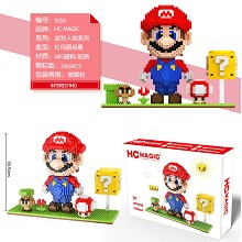 Super Mario anime building block 2416pcs a set