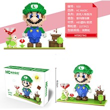 Super Mario anime building block 2277pcs a set