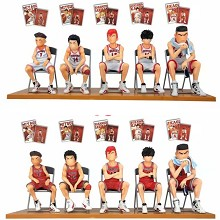 Slam Dunk seat anime figures with postcard