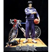 Slam Dunk Rukawa Kaede with bicycle anime figures ...