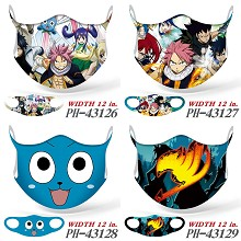 Fairy Tail anime trendy mask printed wash mask