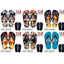 Fairy Tail anime flip flops shoes slippers a pair