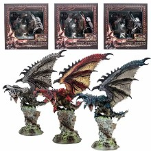 Monster Hunter dragon game figure