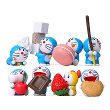 Doraemon anime figures set(8pcs a set)