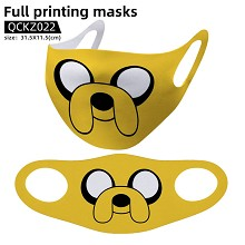 Adventure Time anime trendy mask face mask
