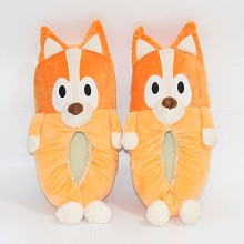 Bluey anime plush shoes slippers a pair 300MM