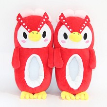 Animal Crossing game plush shoes slippers a pair 3...