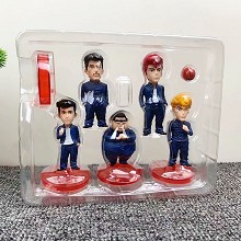 Slam Dunk anime figures a set