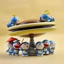 Doraemon anime figures a set