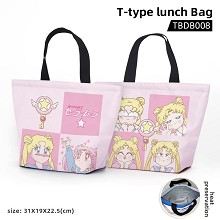 Sailor Moon anime t-type lunch bag