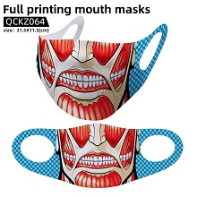 Attack on Titan anime trendy mask face mask