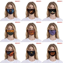 Hallowmas all saints trendy mask face mask