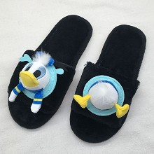 The Donald Fauntleroy Duck anime plush shoes slipp...