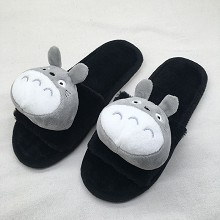 Totoro anime plush shoes slippers a pair 250MM