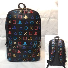Play Station game backpack bag