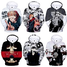 Jujutsu Kaisen anime long sleeve hoodies cloth