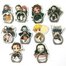 Demon Slayer anime ring phone support frame rack s...