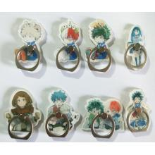 My Hero Academia anime ring phone support frame ra...