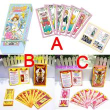 Card Captor Sakura anime clow tarot cards