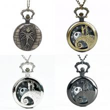 The Nightmare Before Christmas anime pocket watch