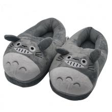 Totoro plush slippers/shoes a pair 28cm