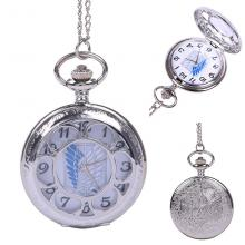 Attack on Titan anime pocket watch