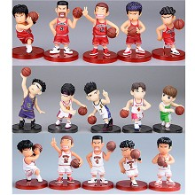 Slam Dunk anime figures set(5pcs a set)no box