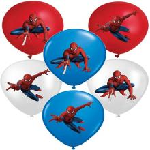 Spider man movie balloon airballoon(price for 20pc...